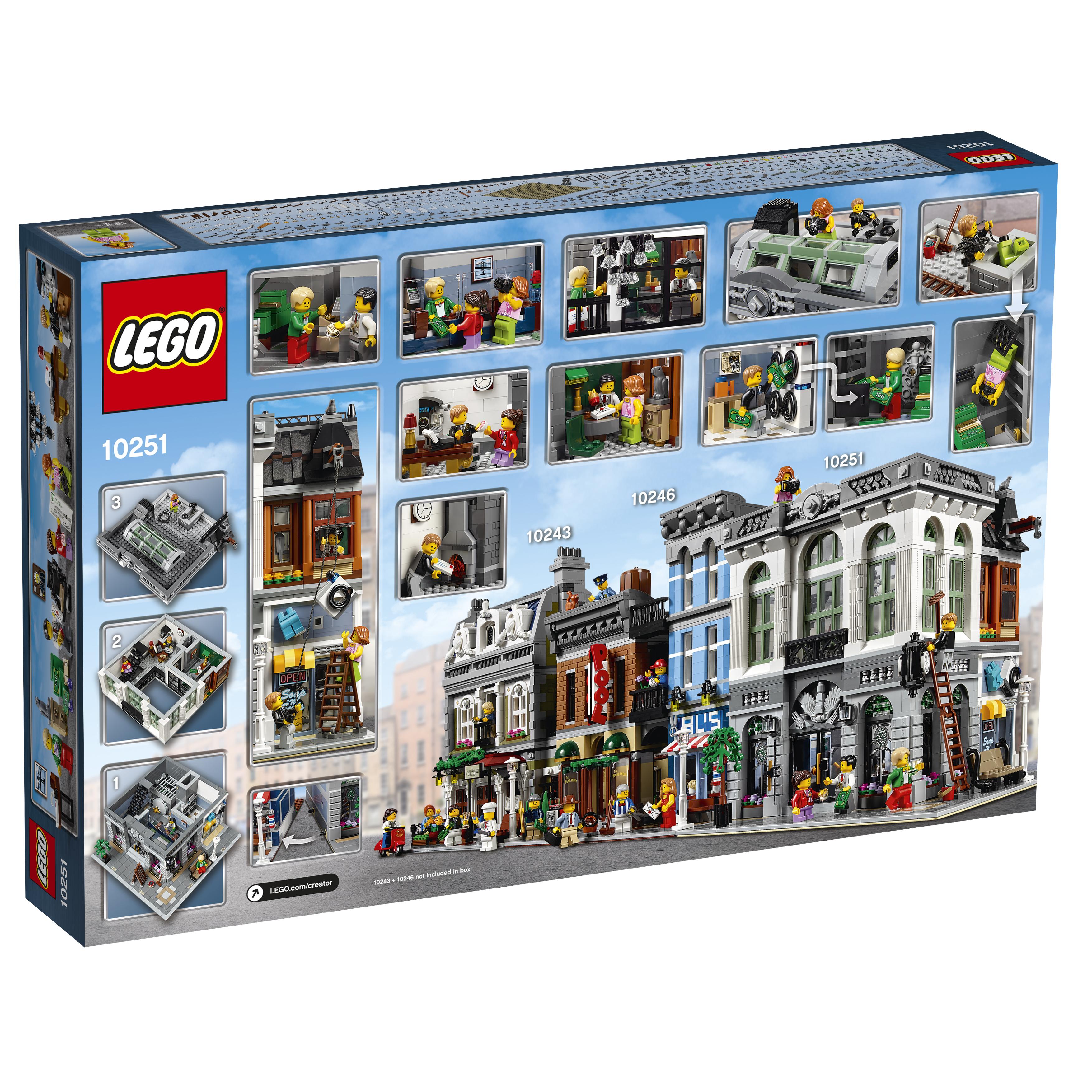 Lego Creator 10251 Brick Bank Oficjalne Zdjęcia Abteampoznan