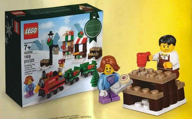 zestaw świąteczny lego seasonal 1