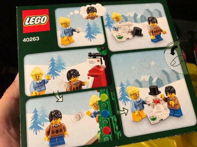 zestaw świąteczny lego seasonal 3