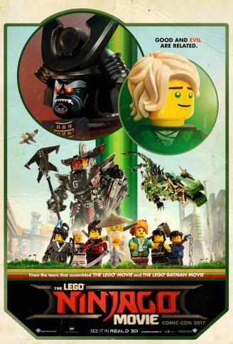 Plakat Lego Ninjago Film 1