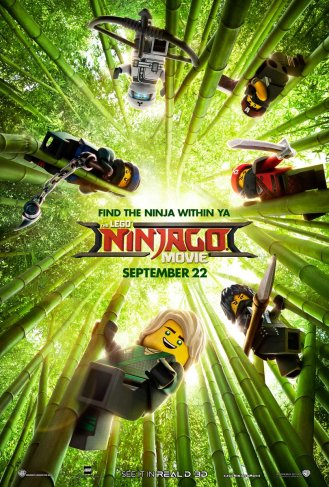 Plakat Lego Ninjago Film 2